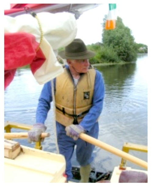 NO ENGINE - ONLY A LIFETIME OF EXPERIENCE AND BRAWN AGAINST THE ENTIRE LENGTH OF THE ERNE NAVIGATION! THAT'S BOY OF HOPE ERNE CHALLENGE 2009